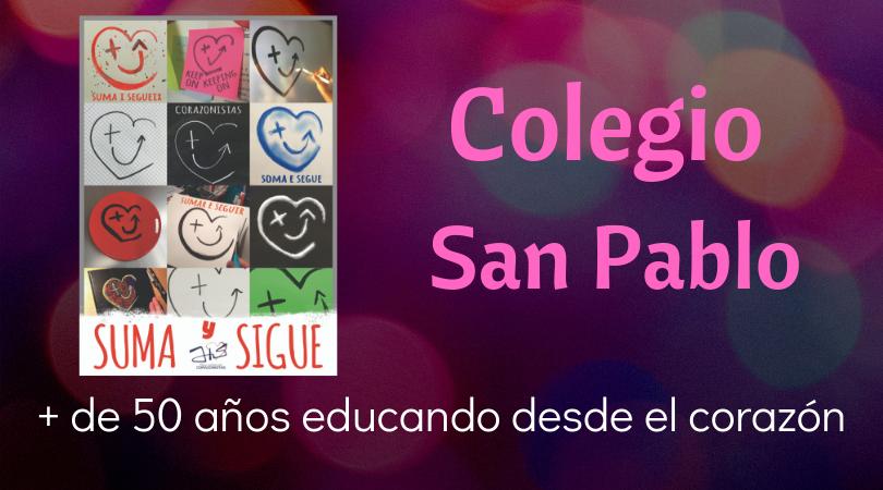 Banner suma y sigue Colegio San Pablo
